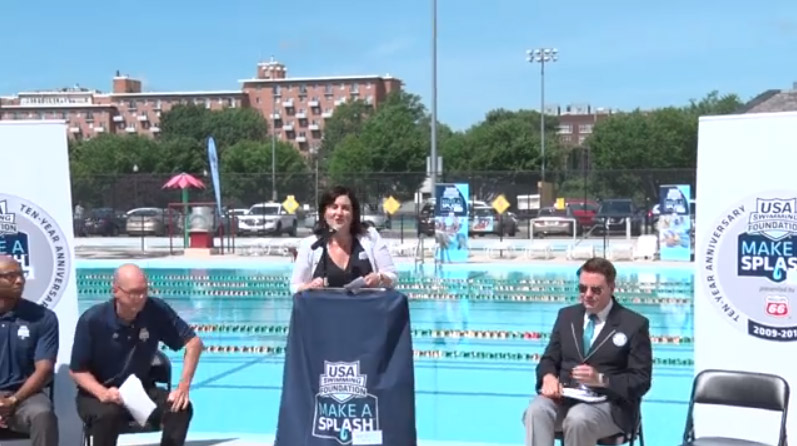 USA Swimming Foundation Sets GUINNESS WORLD RECORDS® for Largest Kickboard to Kick Off the 10th Annual Make a Splash Tour Presented by Phillips 66 - B-roll