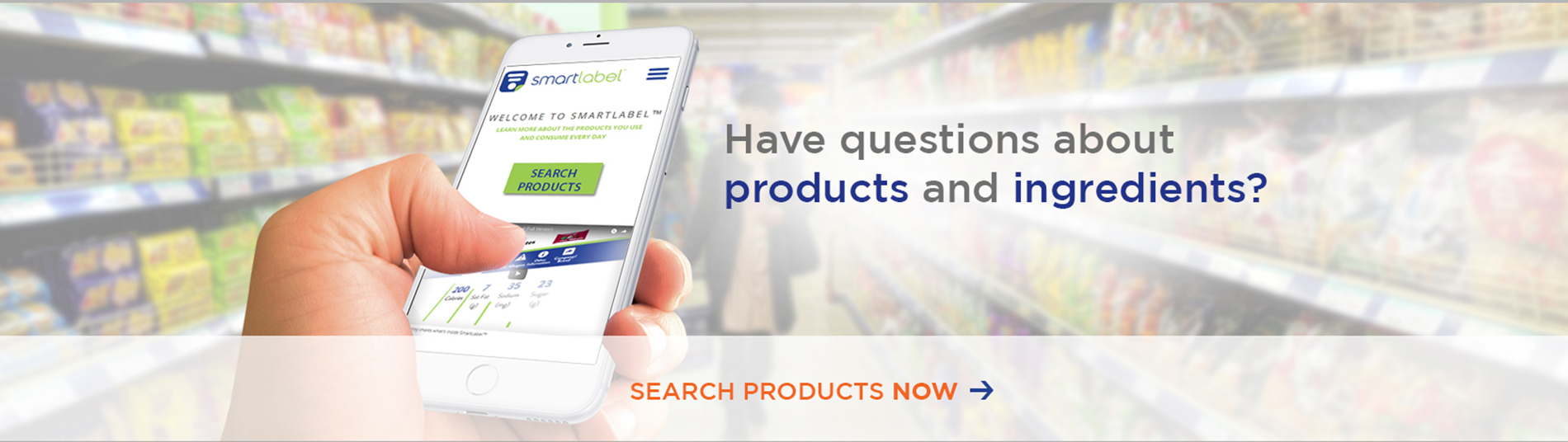 SmartLabel Hero: Questions About Products and Ingredients