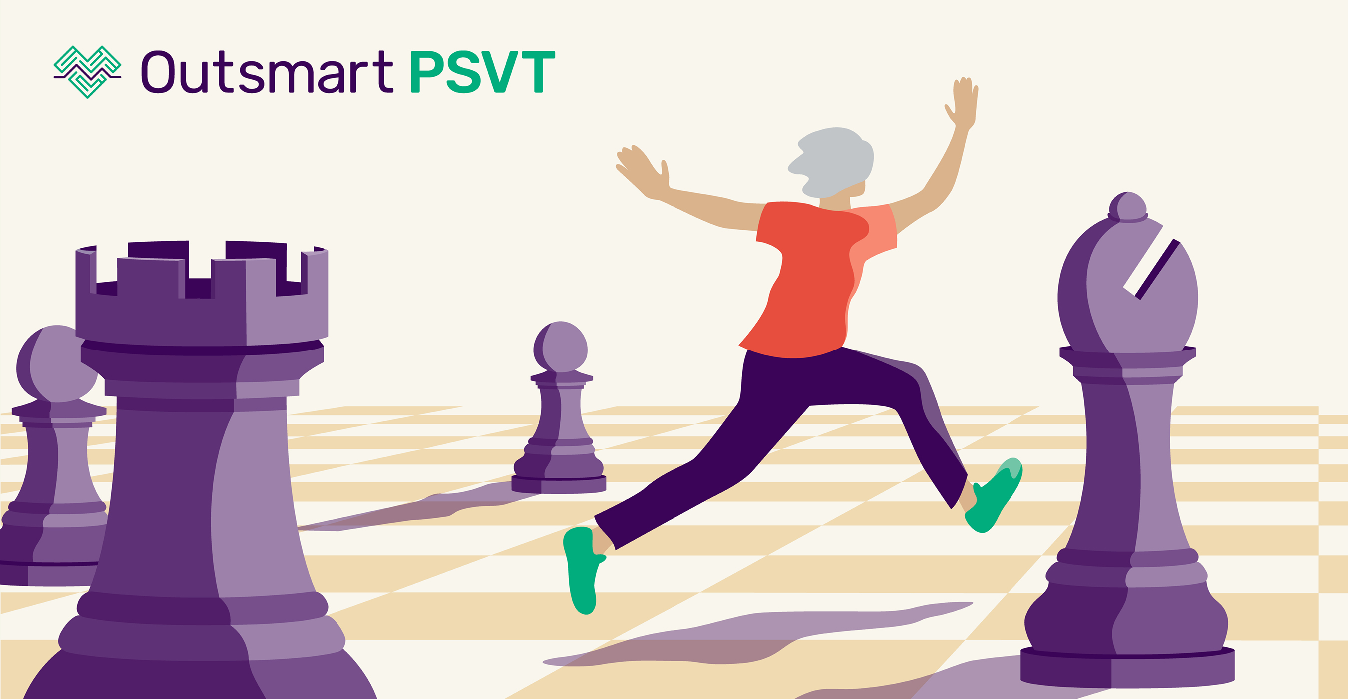OutsmartPSVT.com is your go-to resource to learn how to actively manage the #HeartCondition #PSVT before, during and after a diagnosis. Share with those who may find it helpful. #OutsmartPSVT