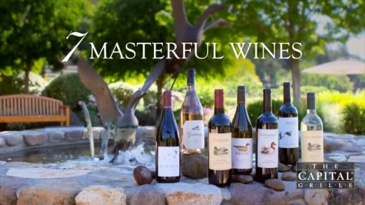 Introducing the seven Masterful Wines featured in the Generous Pour summer wine event.