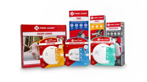 First Alert Product Packaging