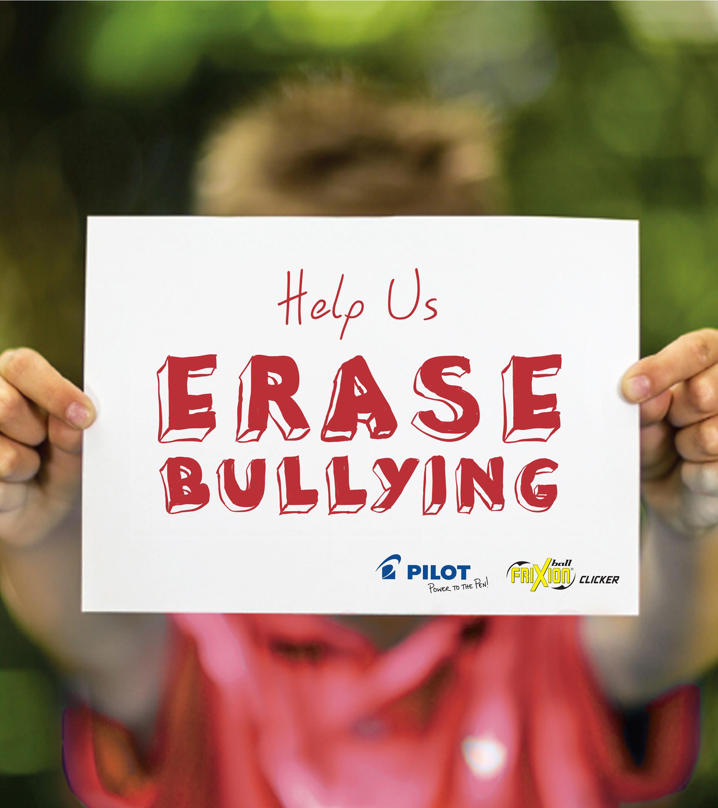 Help Pilot Pen Erase Bullying for Good