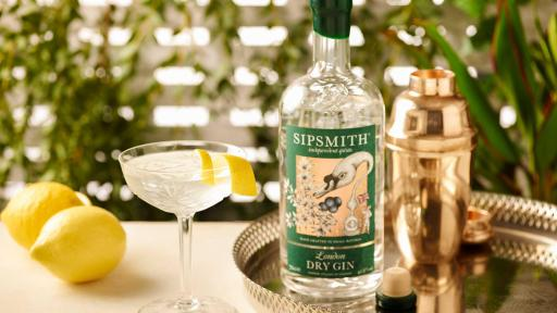 1888 - THE MARTINI: ELIXIR OF QUIETUDE. See Sipsmith London Dry Gin Classic Cocktails for full recipe.