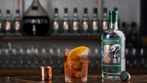 1919 - THE NEGRONI. See Sipsmith London Dry Gin Classic Cocktails for full recipe.