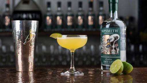 1920s PROHIBITION – THE BEE'S KNEES. See Sipsmith London Dry Gin Classic Cocktails for full recipe.
