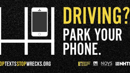 Driving? Park your phone - PSA