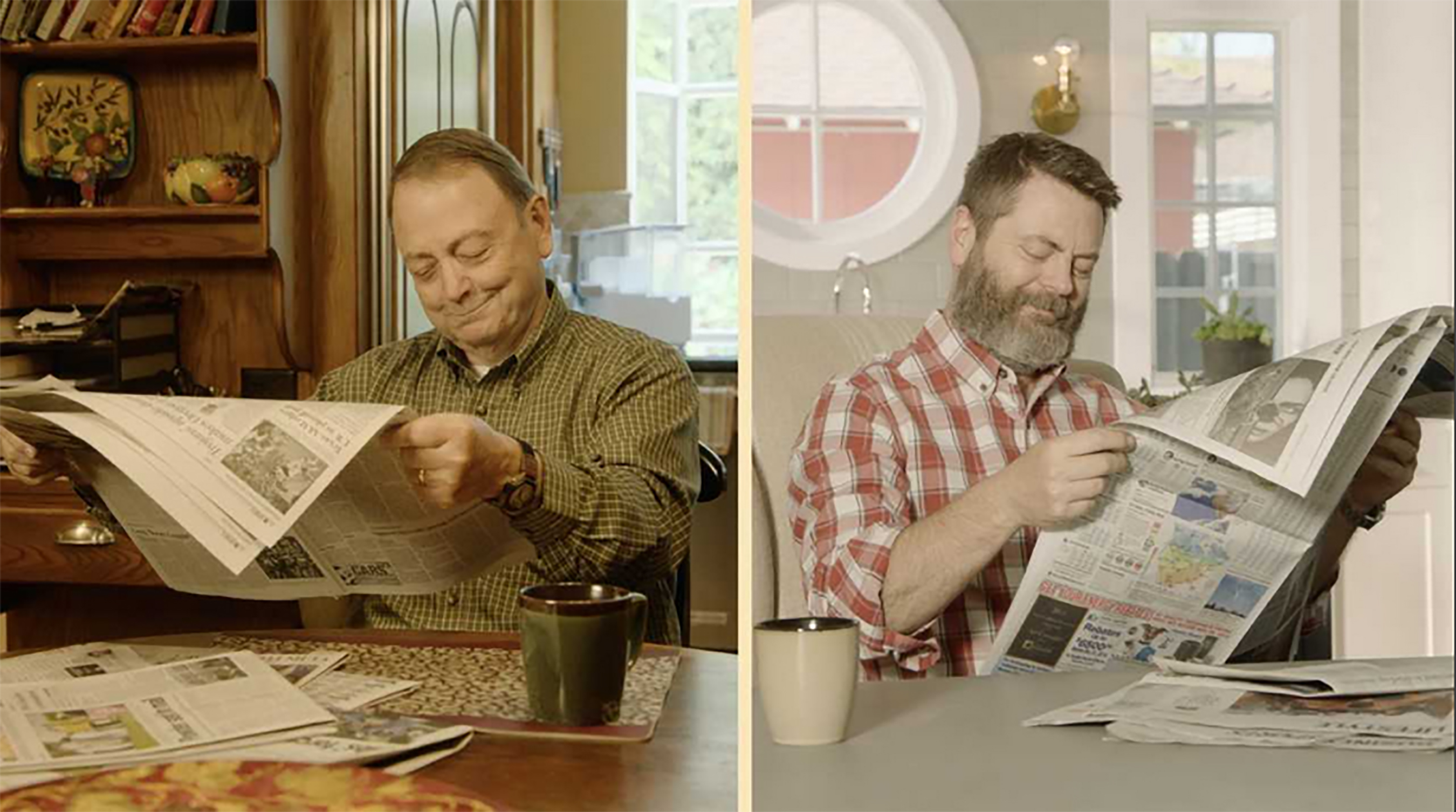 Nick Offerman's Father's Day | Like Father, Like Son