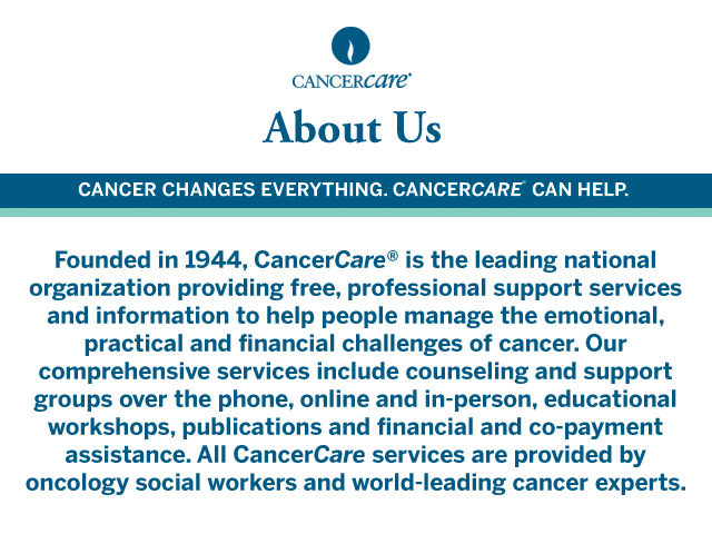 About CancerCare