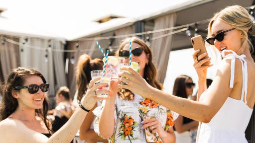Health and Wellness Experts toast to SodaStream at the brand's annual National Hydration Day party.
