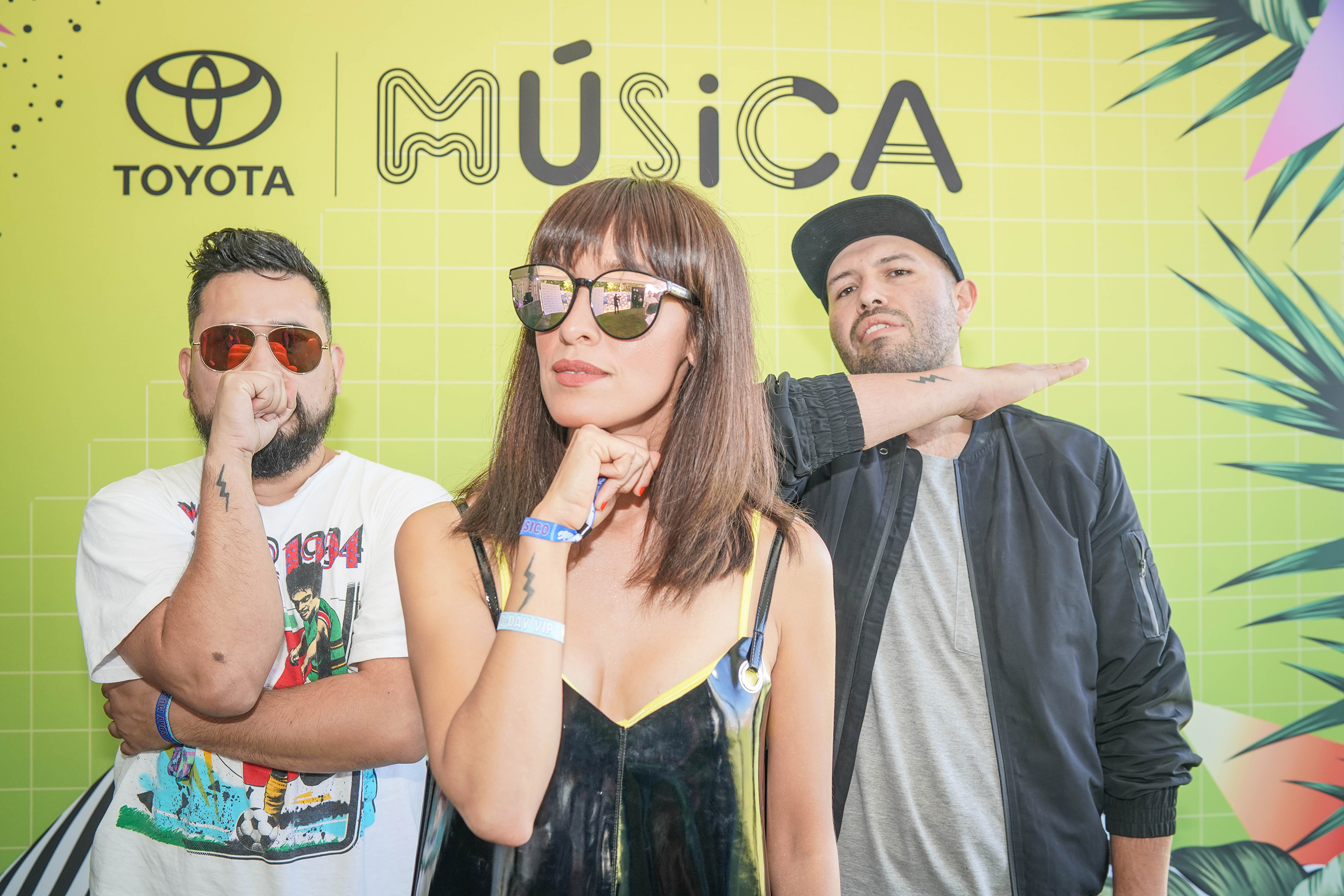 The Toyota Music Den featured Latin pop rock band, Los Hollywood, on day 2 of a music-packed weekend at Ruido Fest 2018.