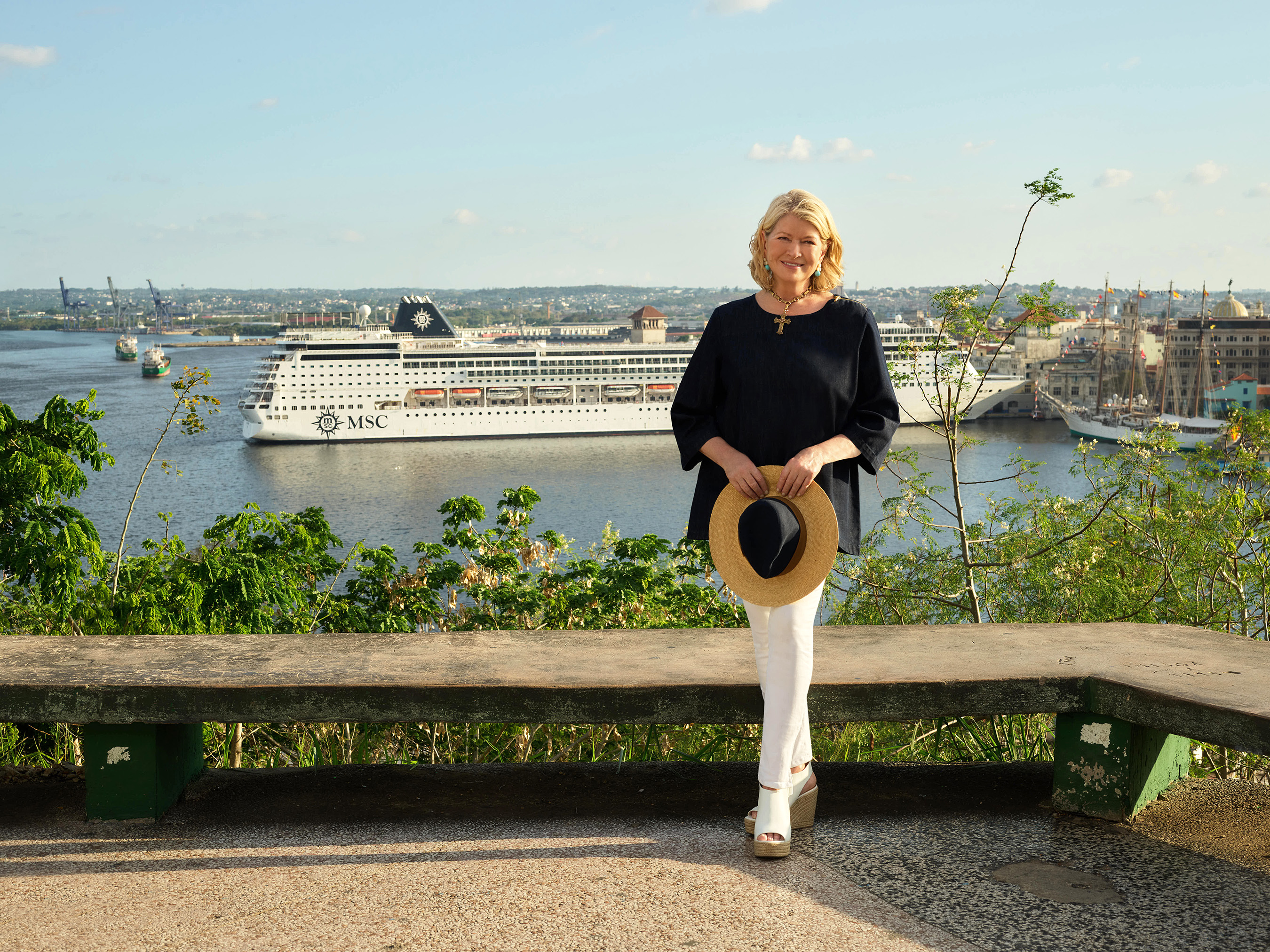 With the new Martha Stewart & MSC Cruises partnership, guests will be able to celebrate, discover and experience their Caribbean vacations with specially curated shore excursions, celebration surprise gift packages, and onboard special holiday dinner menus and recipes. (Credit: Douglas Friedman)