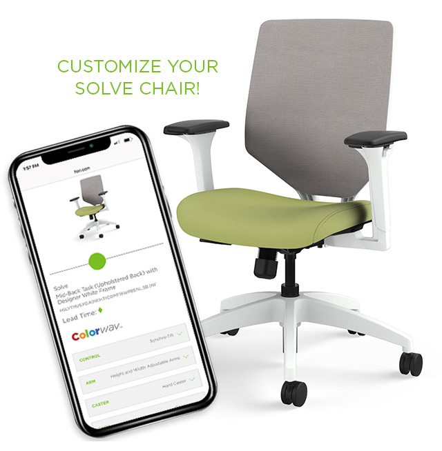 Customize Your HON Solve® Chair!