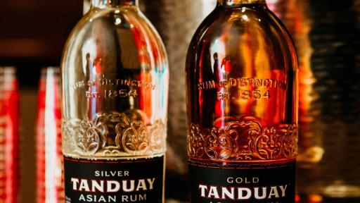 Tanduay Rum embodies the bold, lively, and creative spirit that is distinctly Filipino. All Tanduay rums can be enjoyed neat, on the rocks, and as a complement to cocktails of all kinds.
