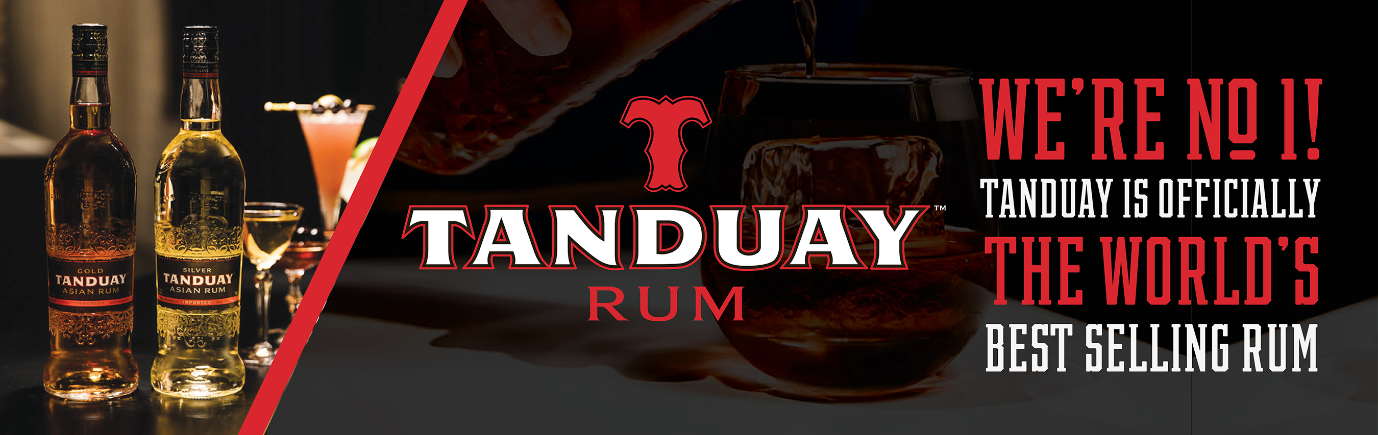 Tanduay Hero with Gold and Silver Rum
