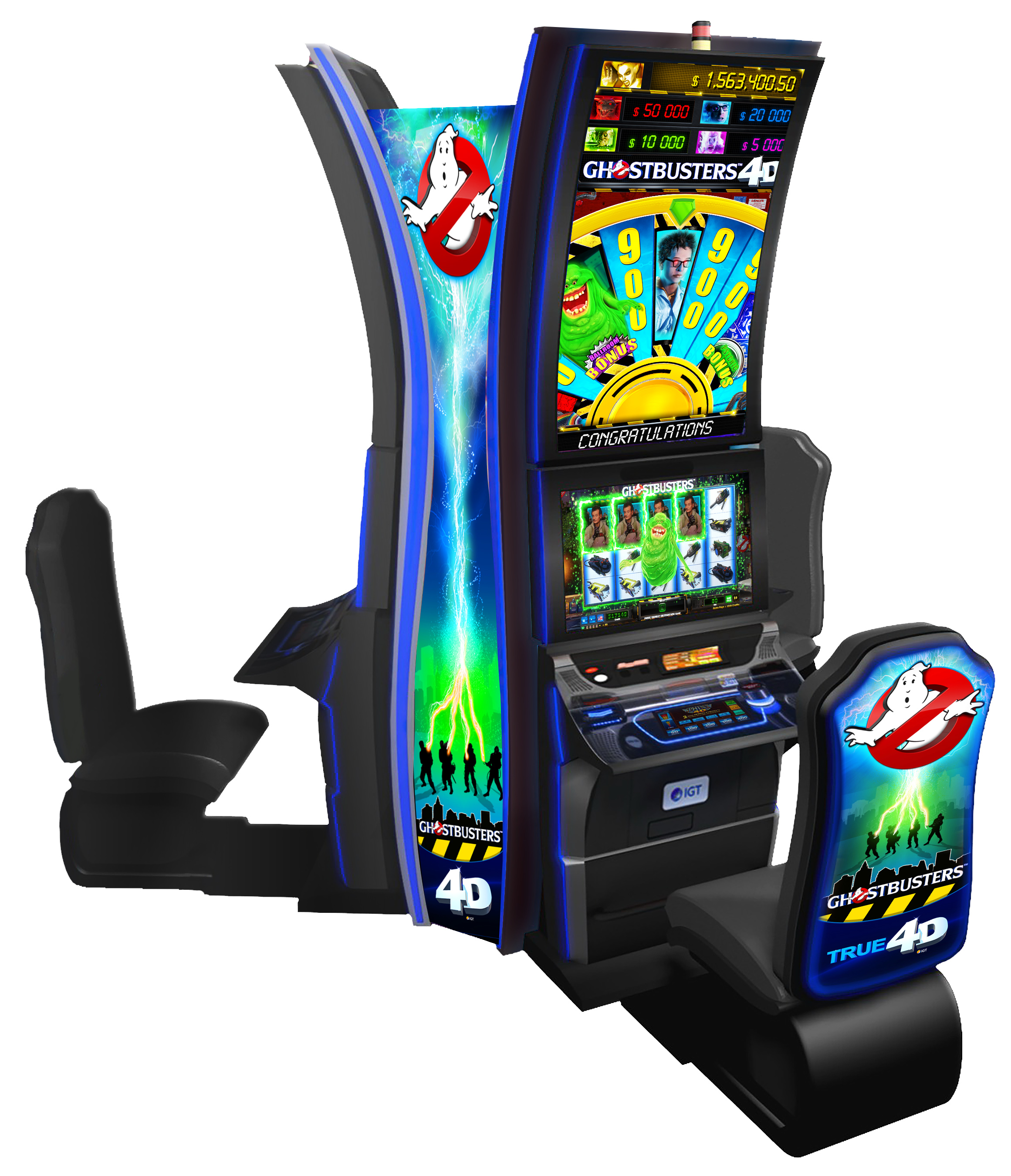 Ghostbusters 4d Slot Machine