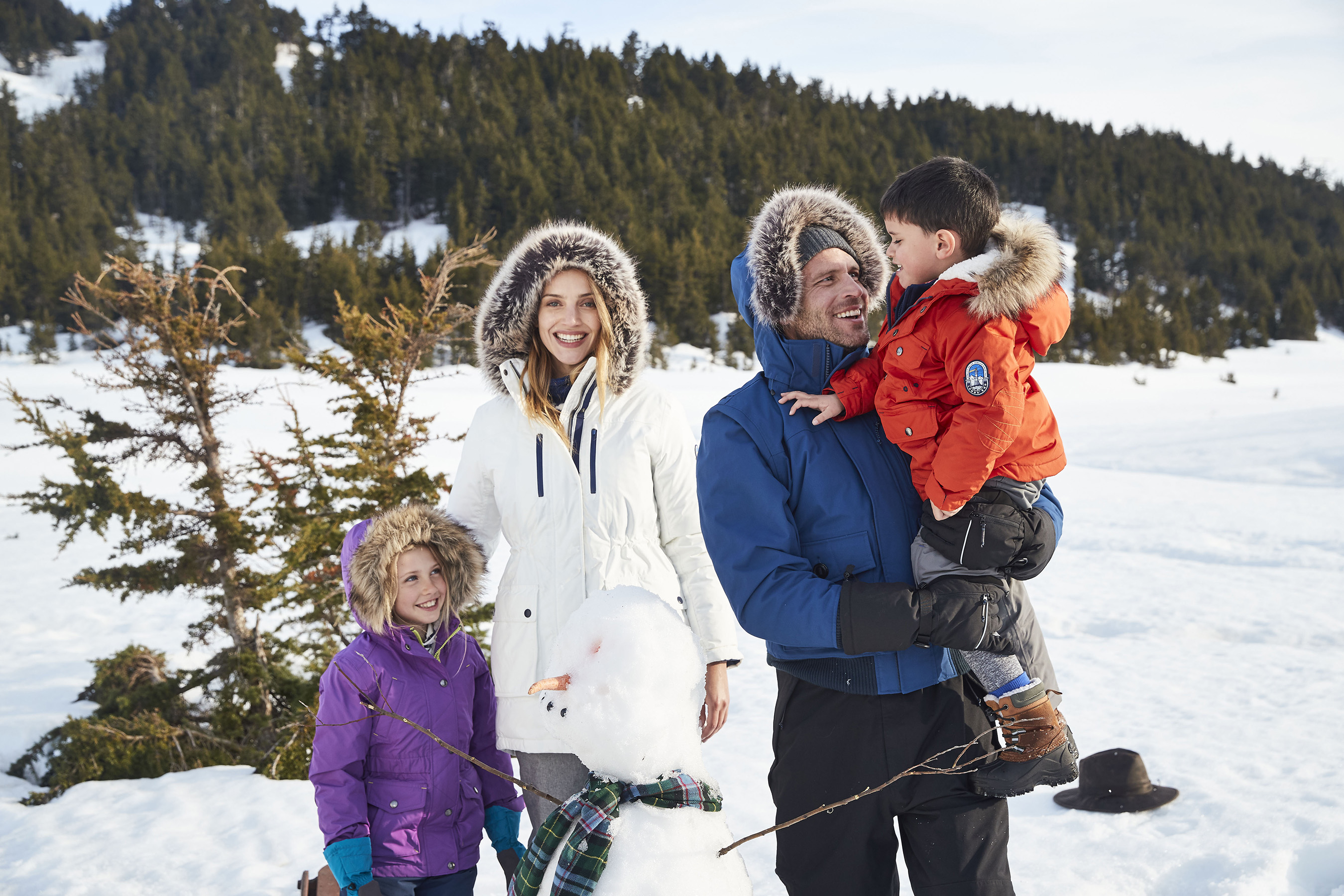 Winter Coats for the Whole Family