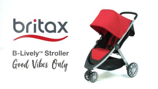 New B-Lively Stroller and Travel Systems from Britax