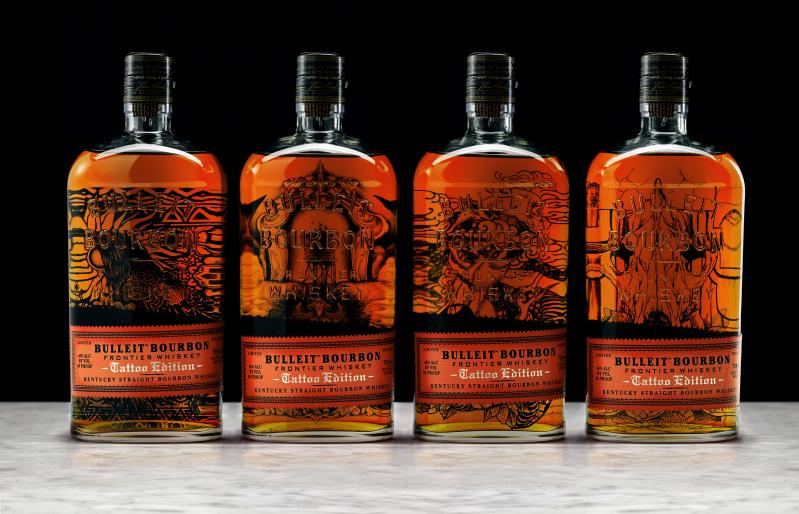 Bulleit Bourbon Tattoo Edition collection
