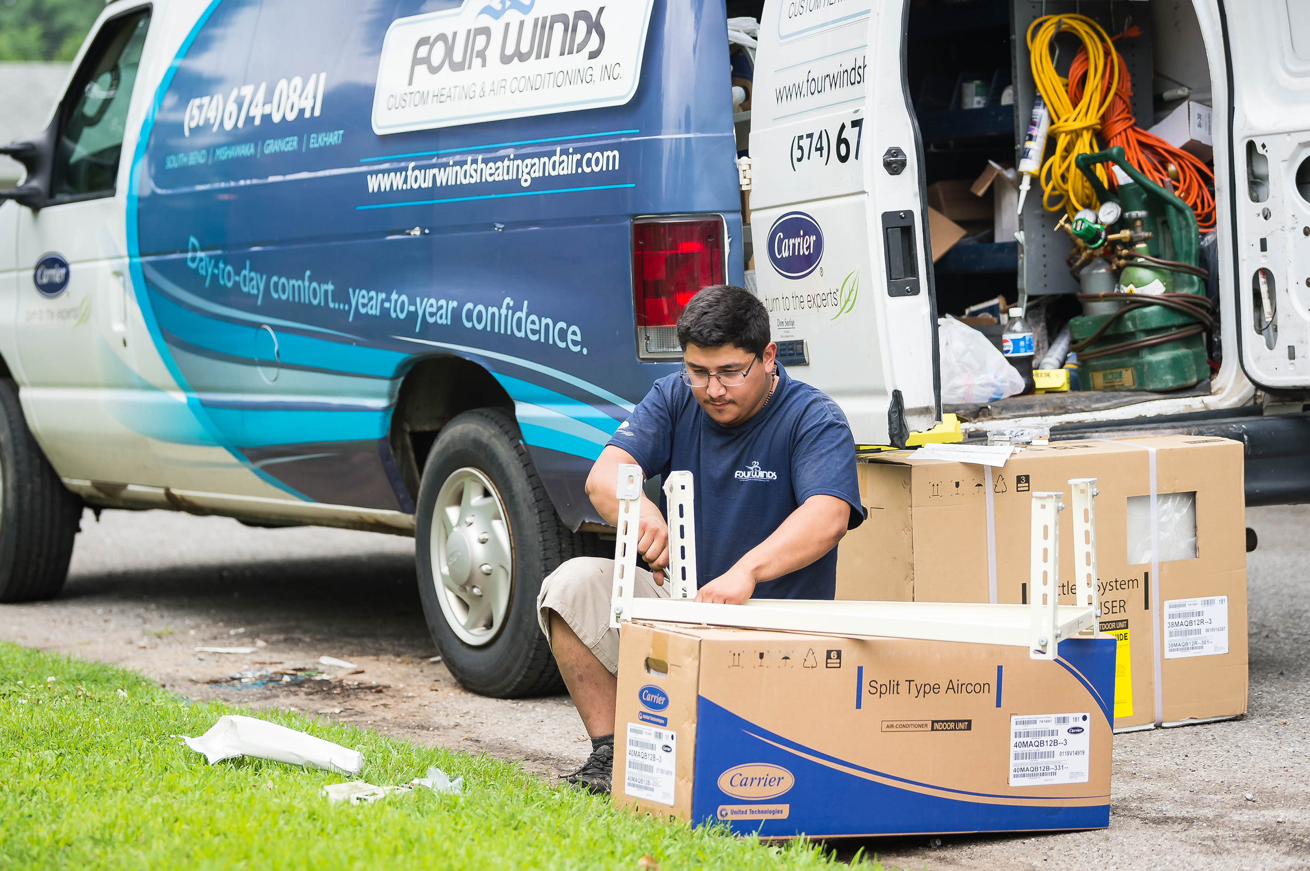 Carrier Donates High Efficiency Home Comfort Systems For
