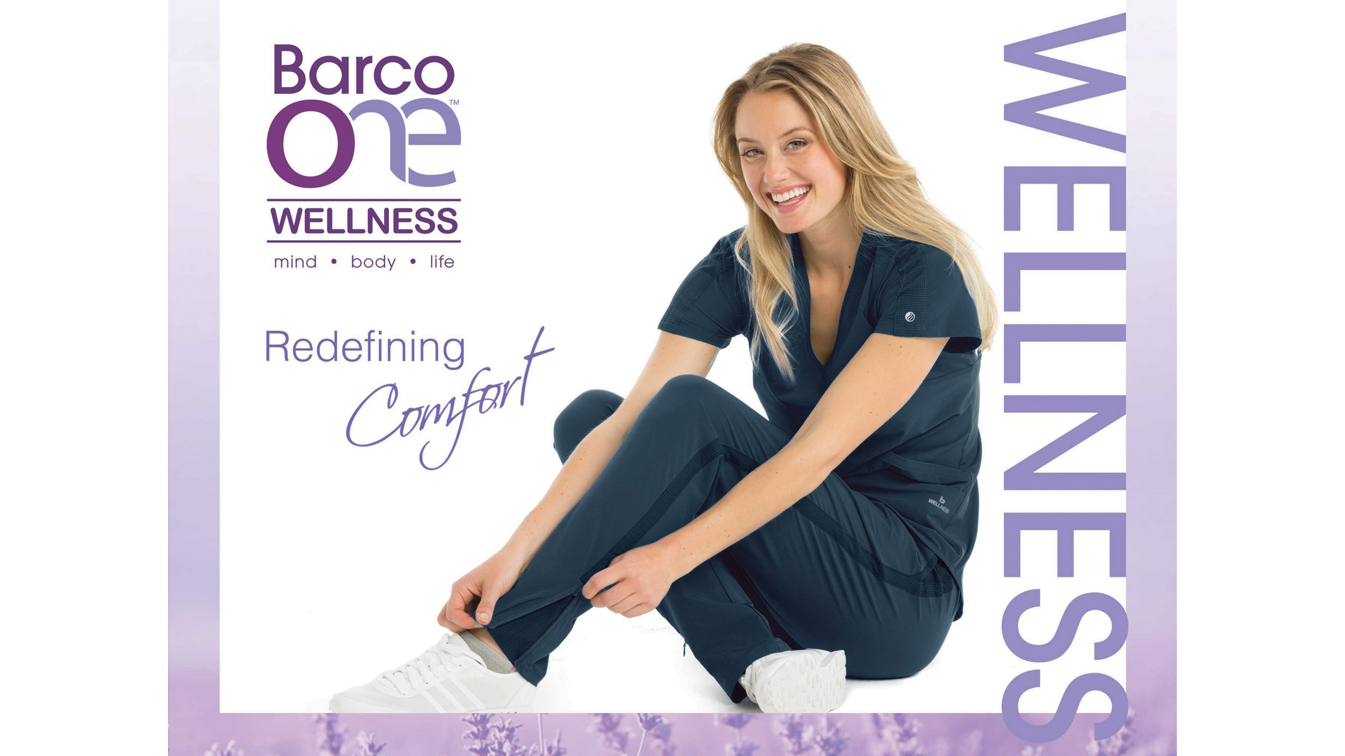 Ultra comfortable healthcare scrubs designed with temperature regulating fabric technology for those who deserve it most.