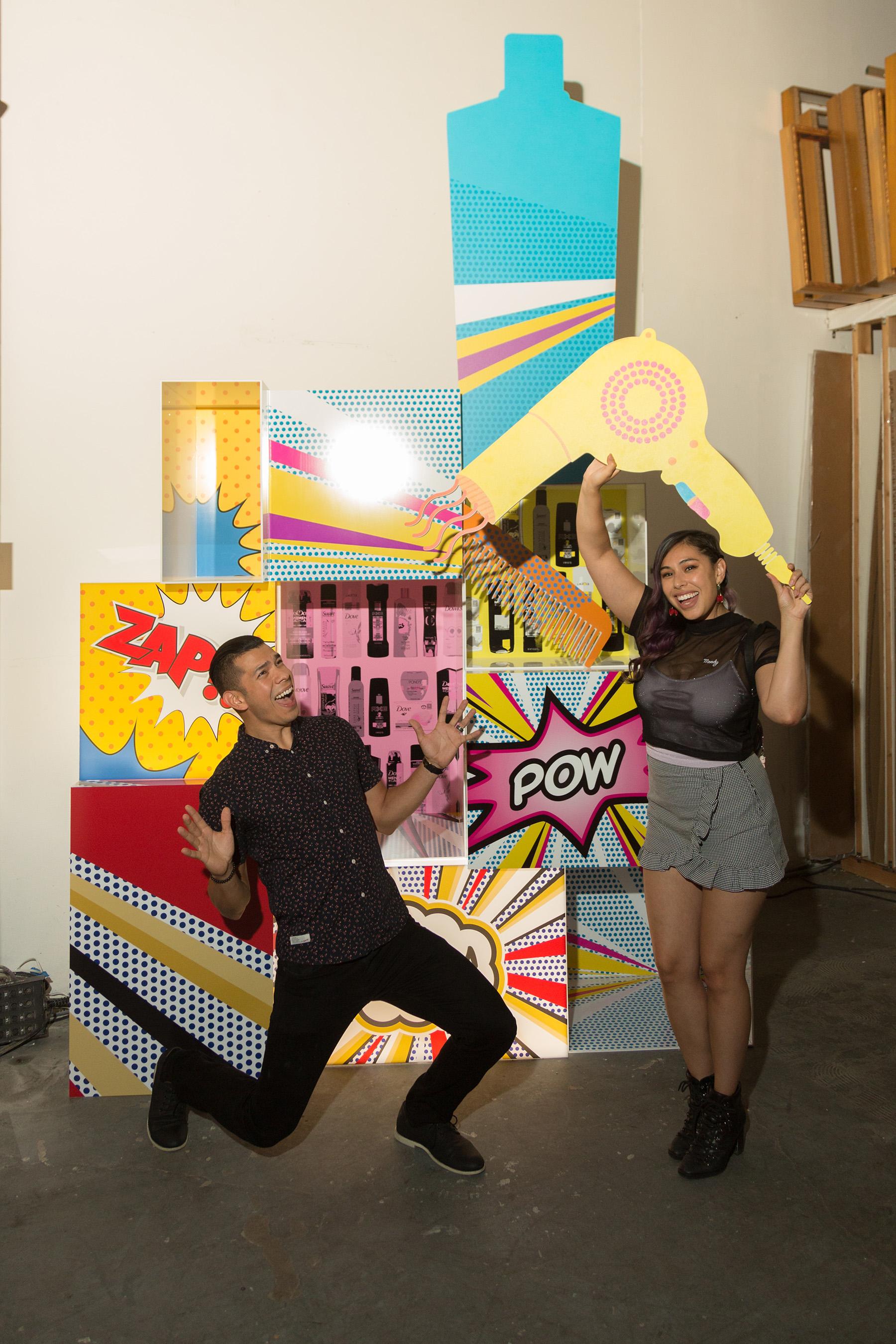 Mario Hererra & YouTube Personality Tiffany Garcia AKA TiffyQuake
