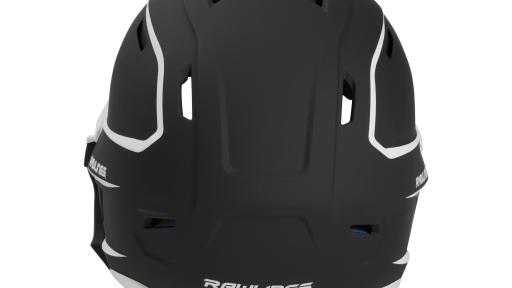 Back view of Rawlings' new MACH EXT Batting Helmet