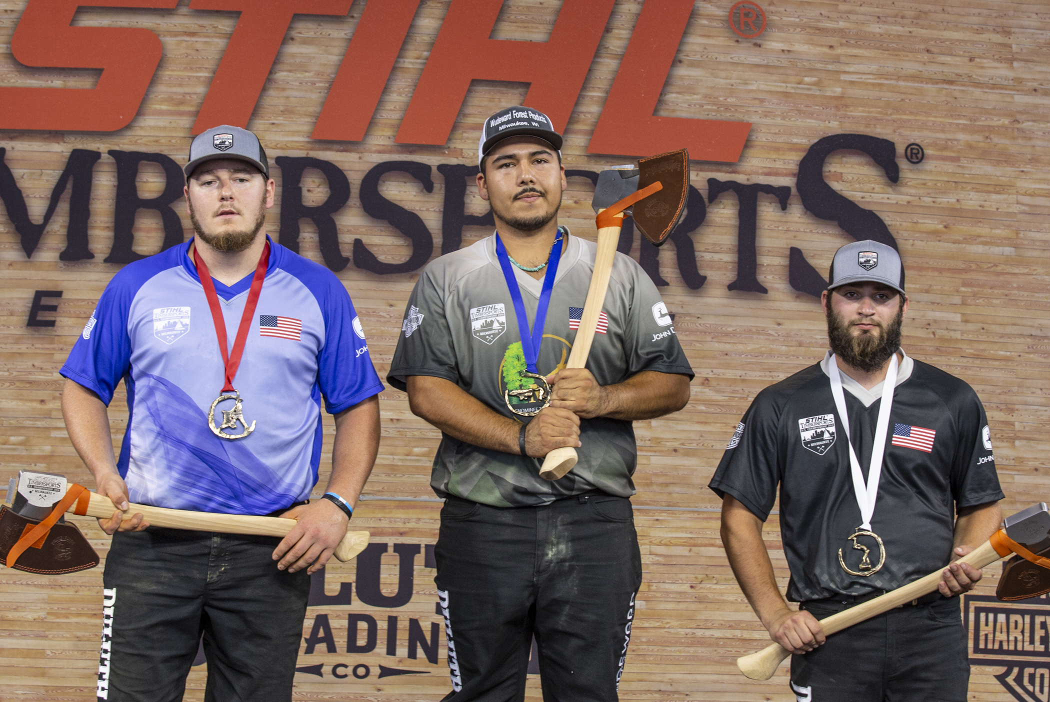 Rainer Shooter of the University of Wisconsin-Stevens Point wins the Collegiate Championship