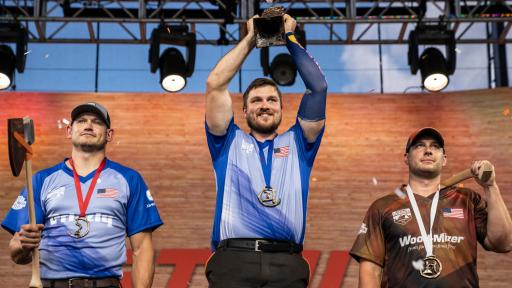 Matt Cogar won his sixth straight U.S. Pro Championship