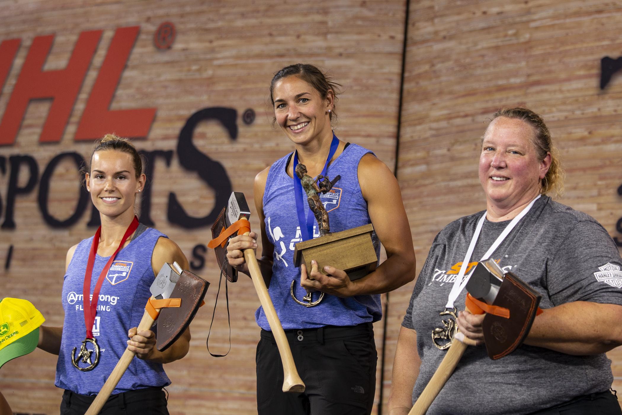 Erin LaVoie won the Women's Division Championship