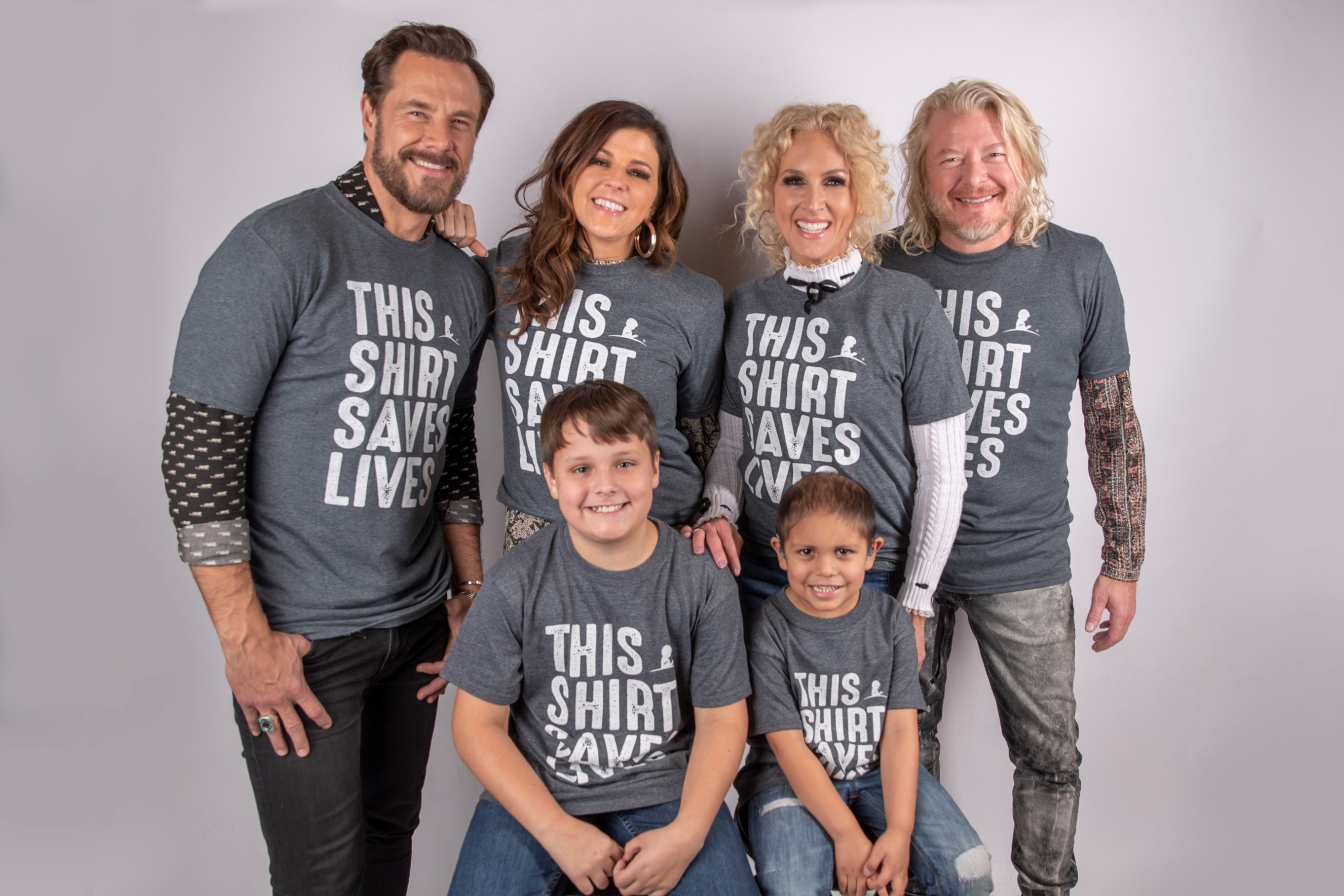 Little Big Town with Hutsen and Abraham - Credit: ALSAC/St. Jude