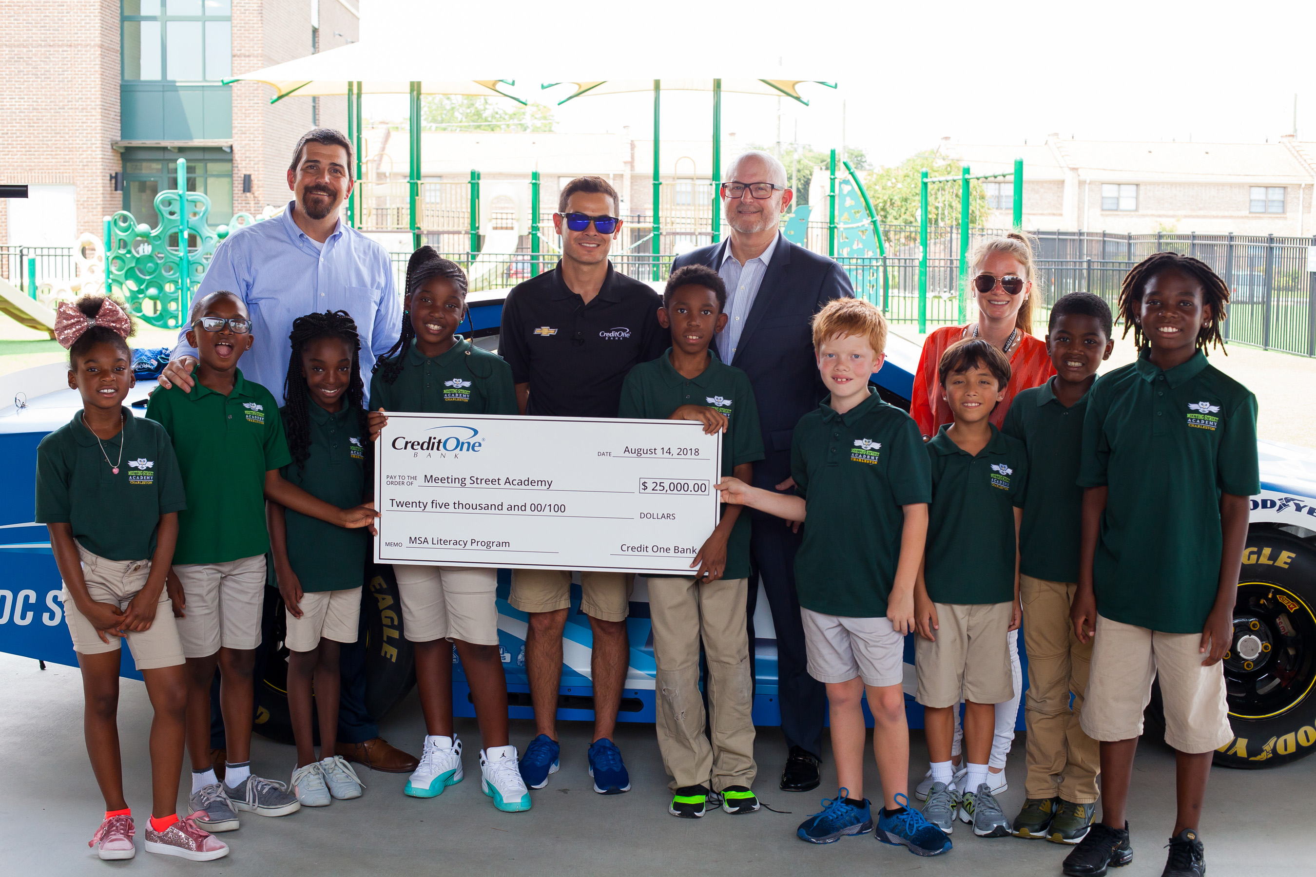 Credit One Bank donates $25,000 to Meeting Street Academy
