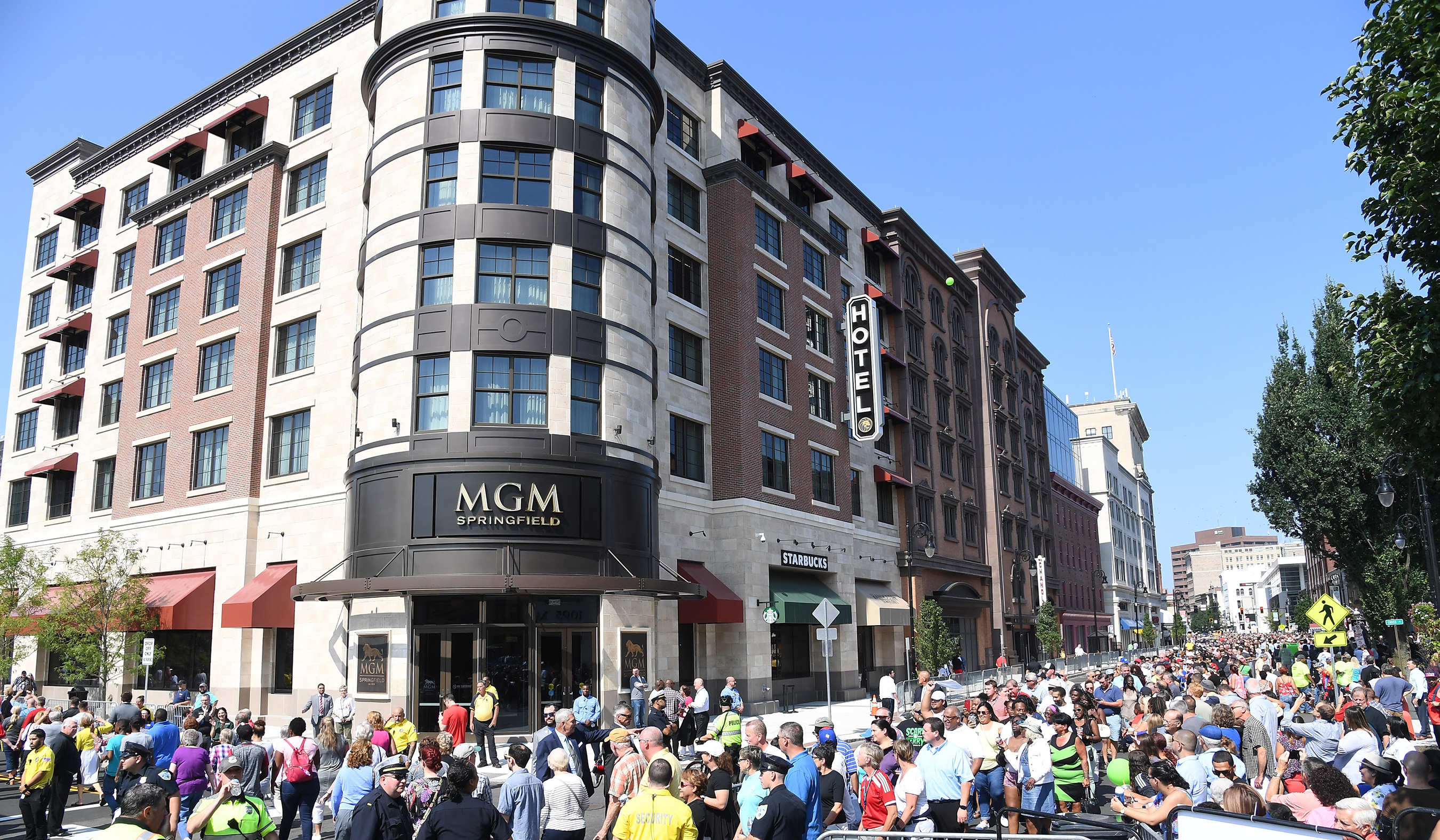 On August 24, thousands of guests filed into MGM Springfield for its grand opening day.