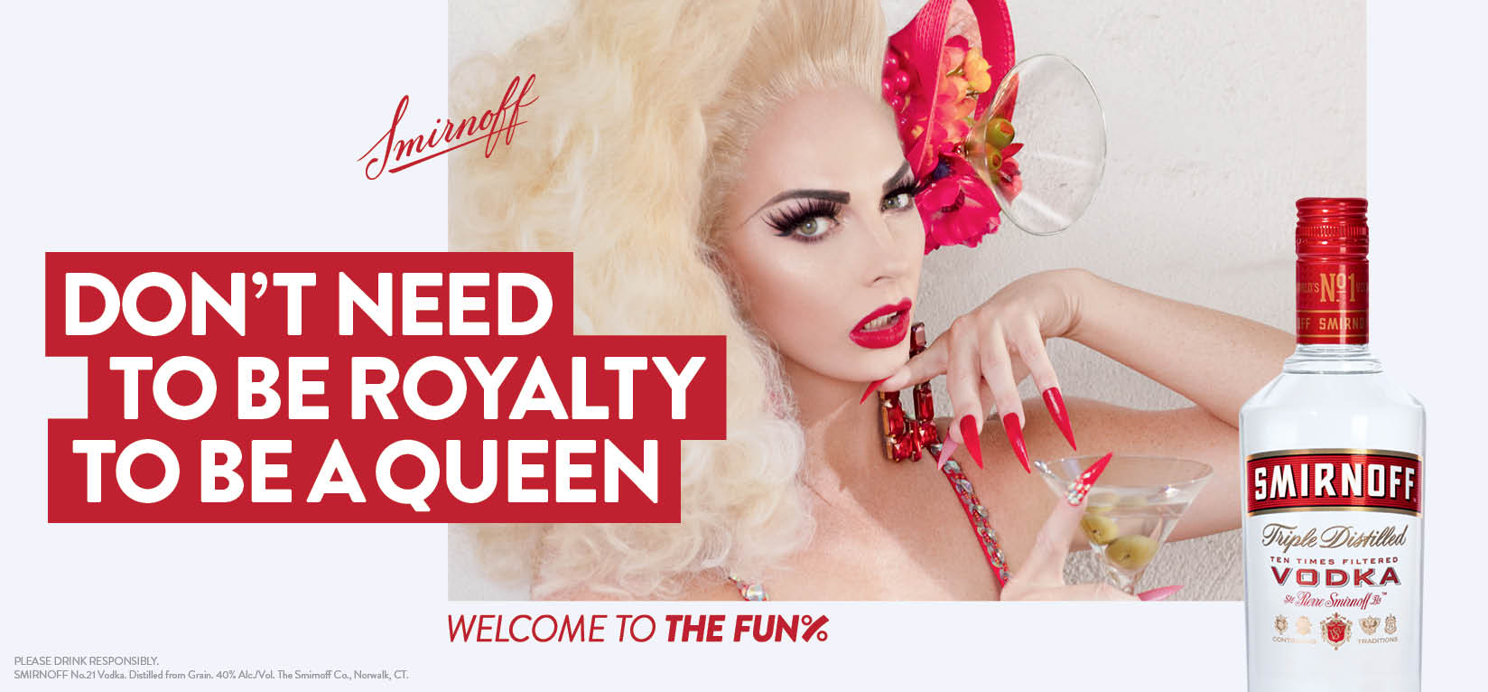 SMIRNOFF Vodka Partners with Alyssa Edwards for Welcome to the Fun% Campaign