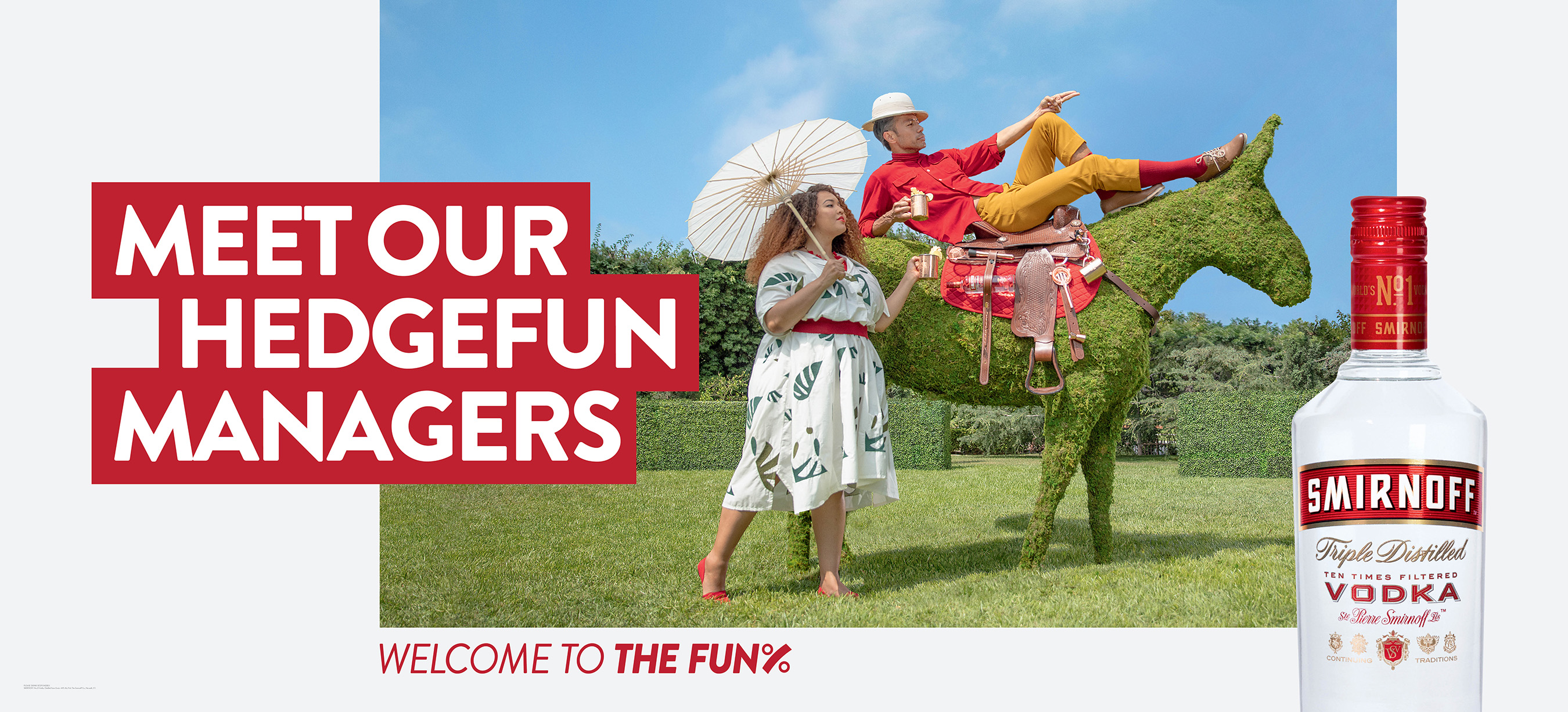 SMIRNOFF Vodka Partners with Gabi Fresh for Welcome to the Fun% Campaign