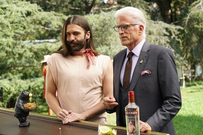 Jonathan Van Ness Joins Ted Danson To Show You Don't Need A Lot To Have Good Time on the Set of SMIRNOFF's New Fun% Campaign Shoot