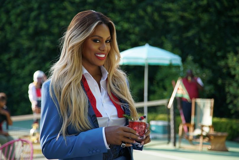 "Laverne Cox on Set of the New SMIRNOFF Vodka ""Welcome to the Fun%"" Campaign"