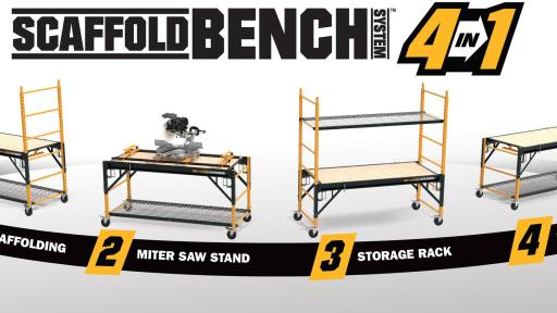 The New Metaltech Scaffoldbench Is A Unique Four In One Unit