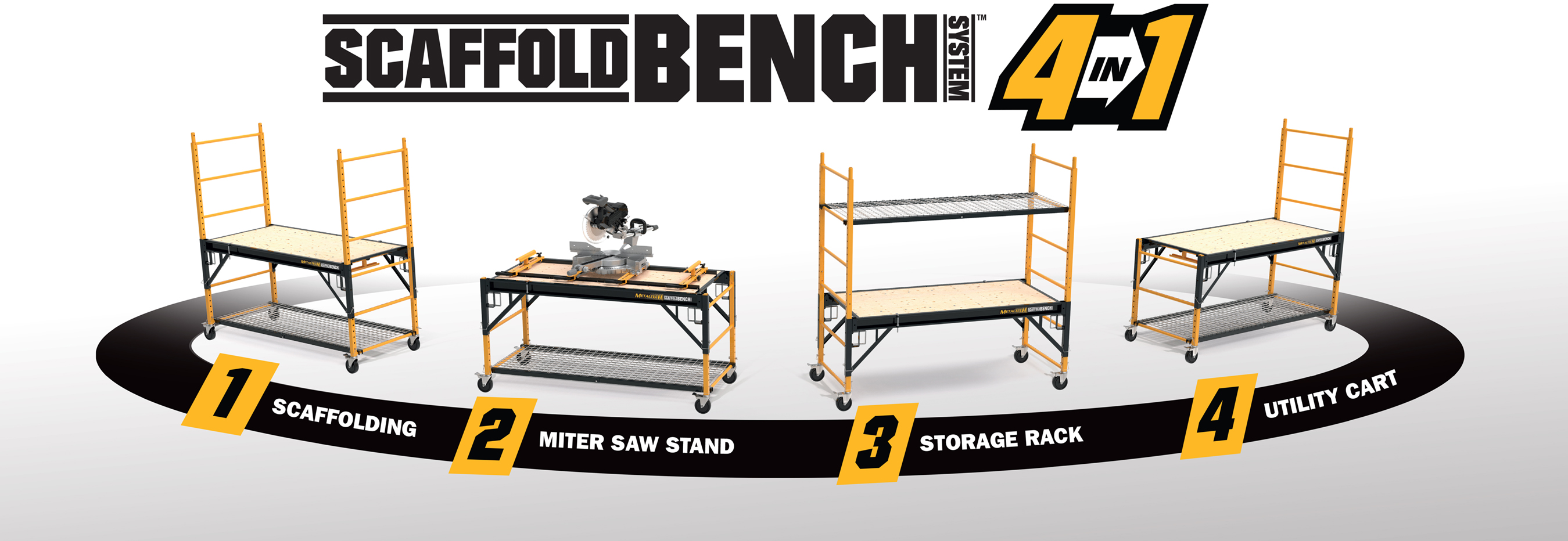 Metaltech ScaffoldBench 4 in 1 Unit