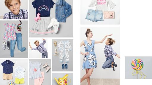 New Tanger Outlets clothing and styles for children