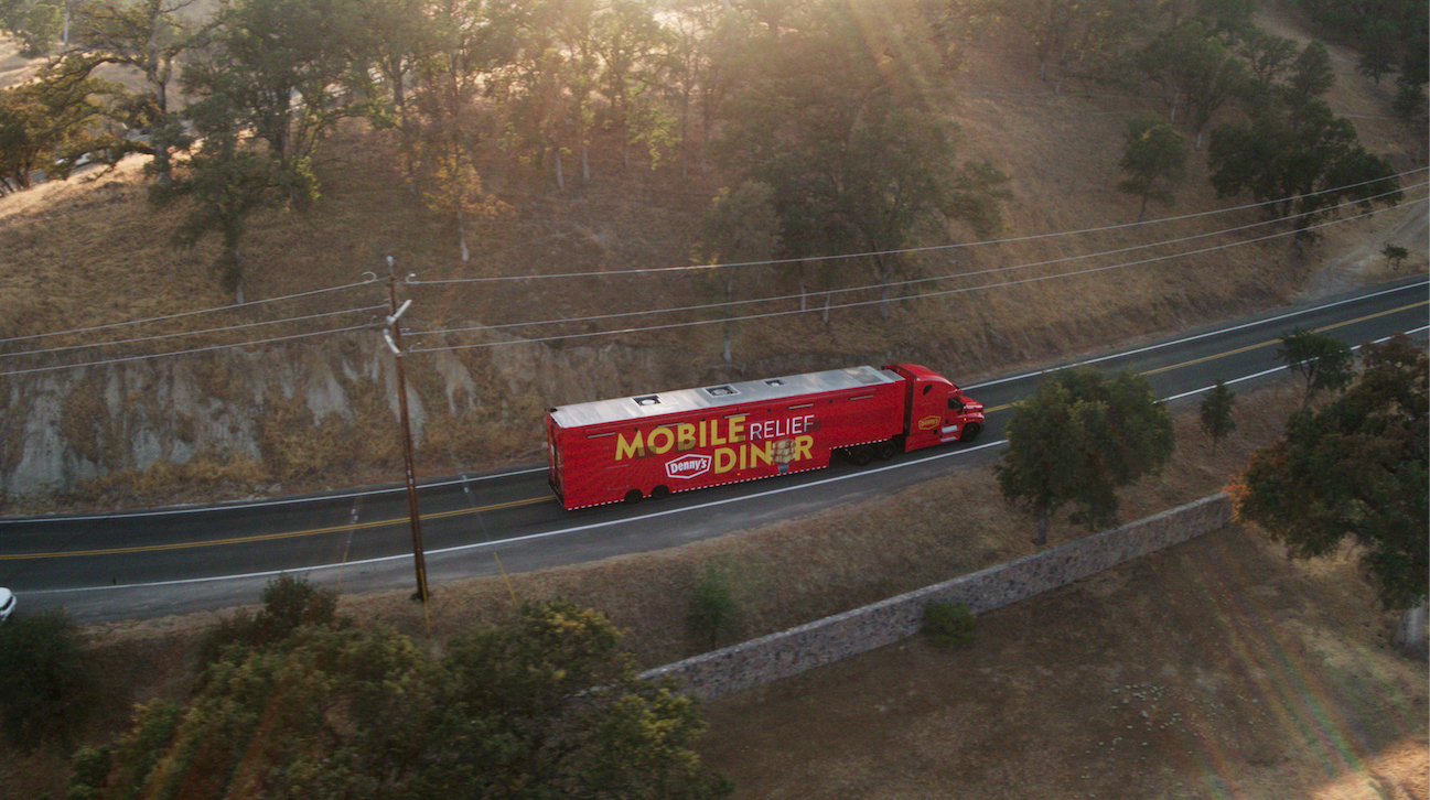 Denny's Assisted Several Communities in California Affected by the Record-Breaking Wildfires