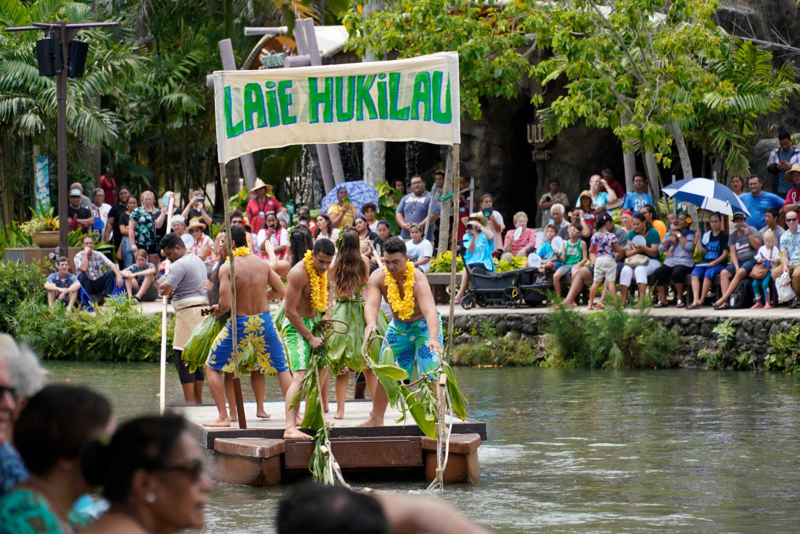 In addition to showcasing various Polynesian cultures, Huki also shares the unique history of Laie and the beginning of the Polynesian Cultural Center.