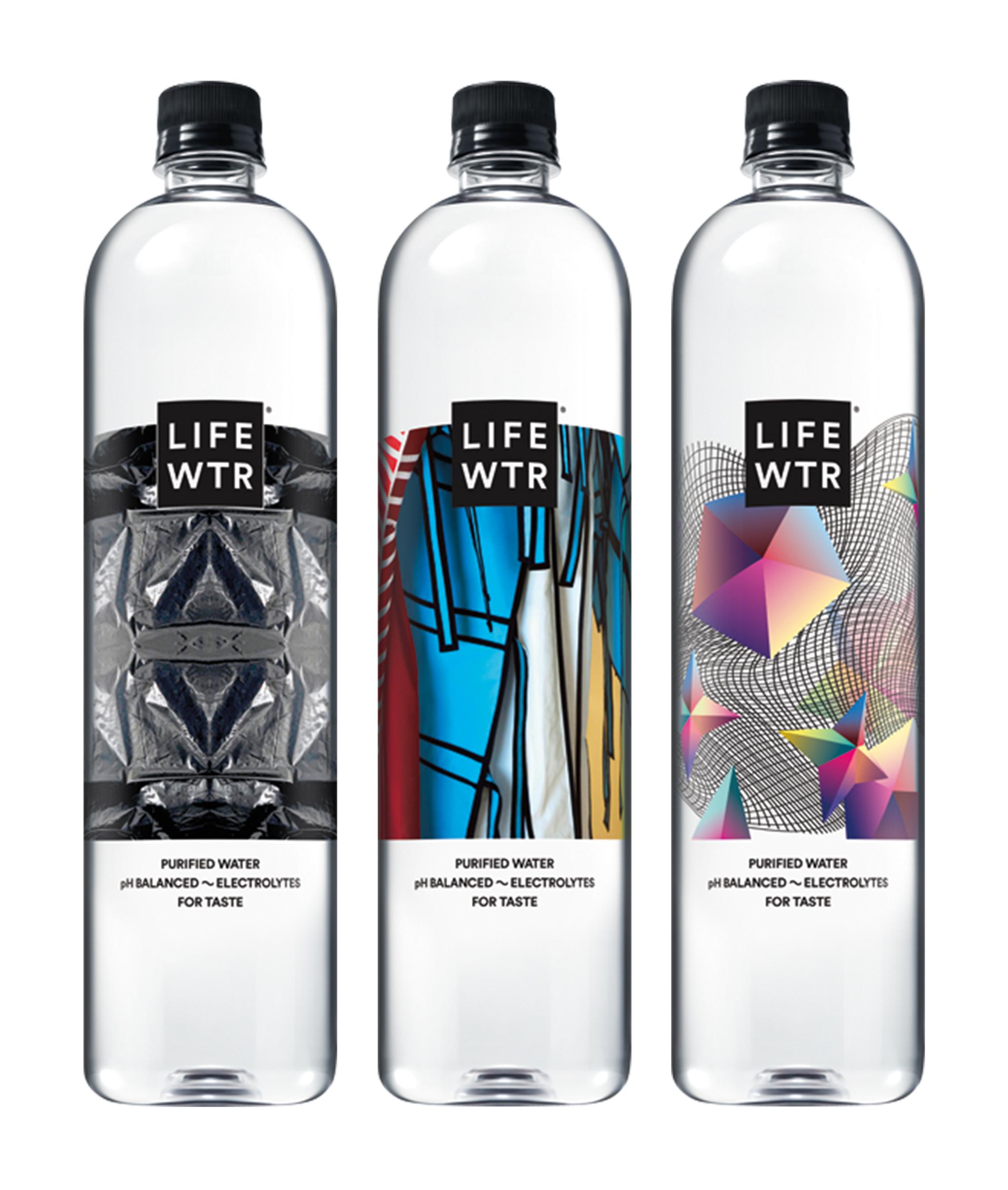 LIFEWTR Series 6 Bottles