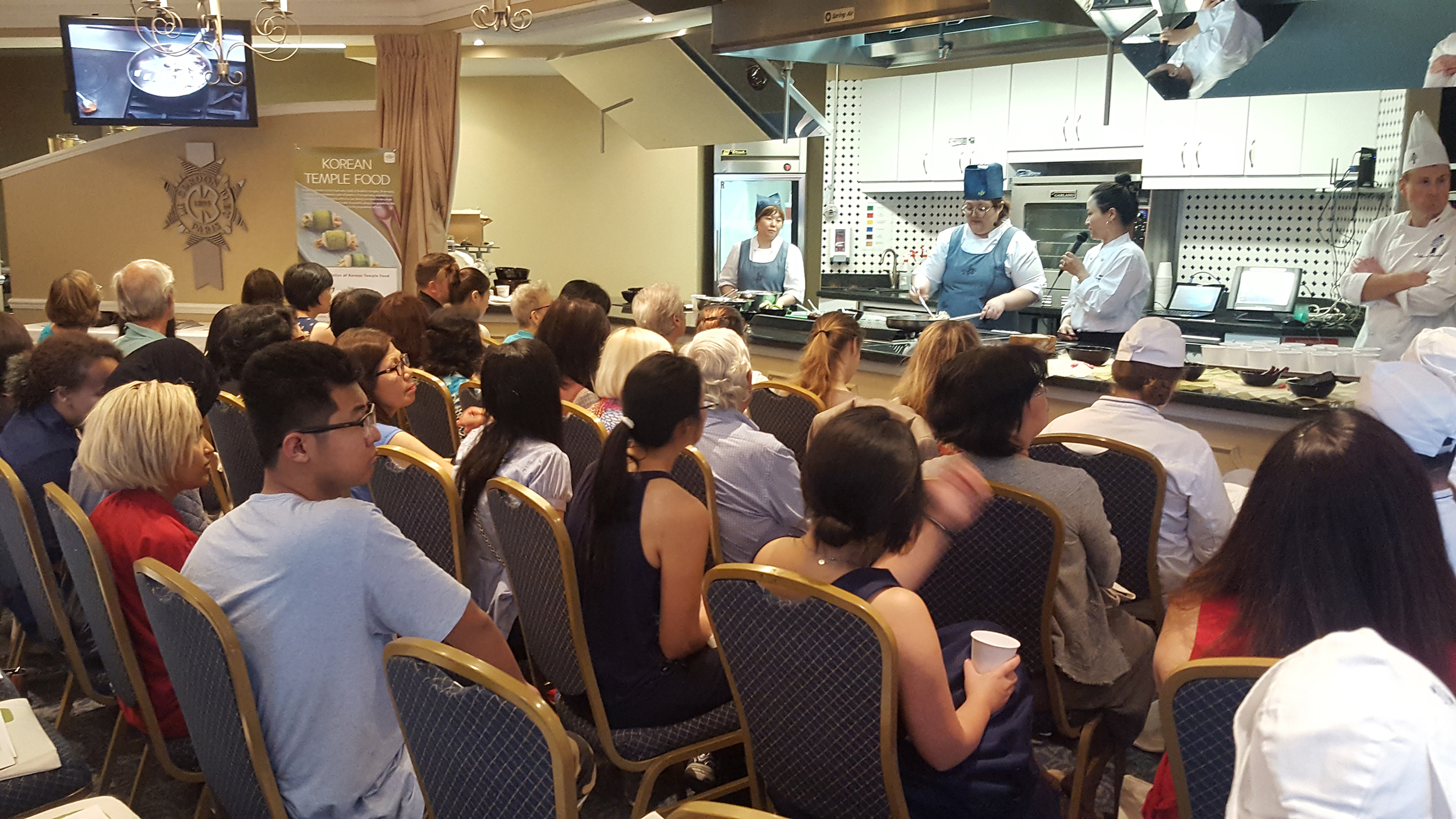 The lecture held at Le Cordon Bleu previous year