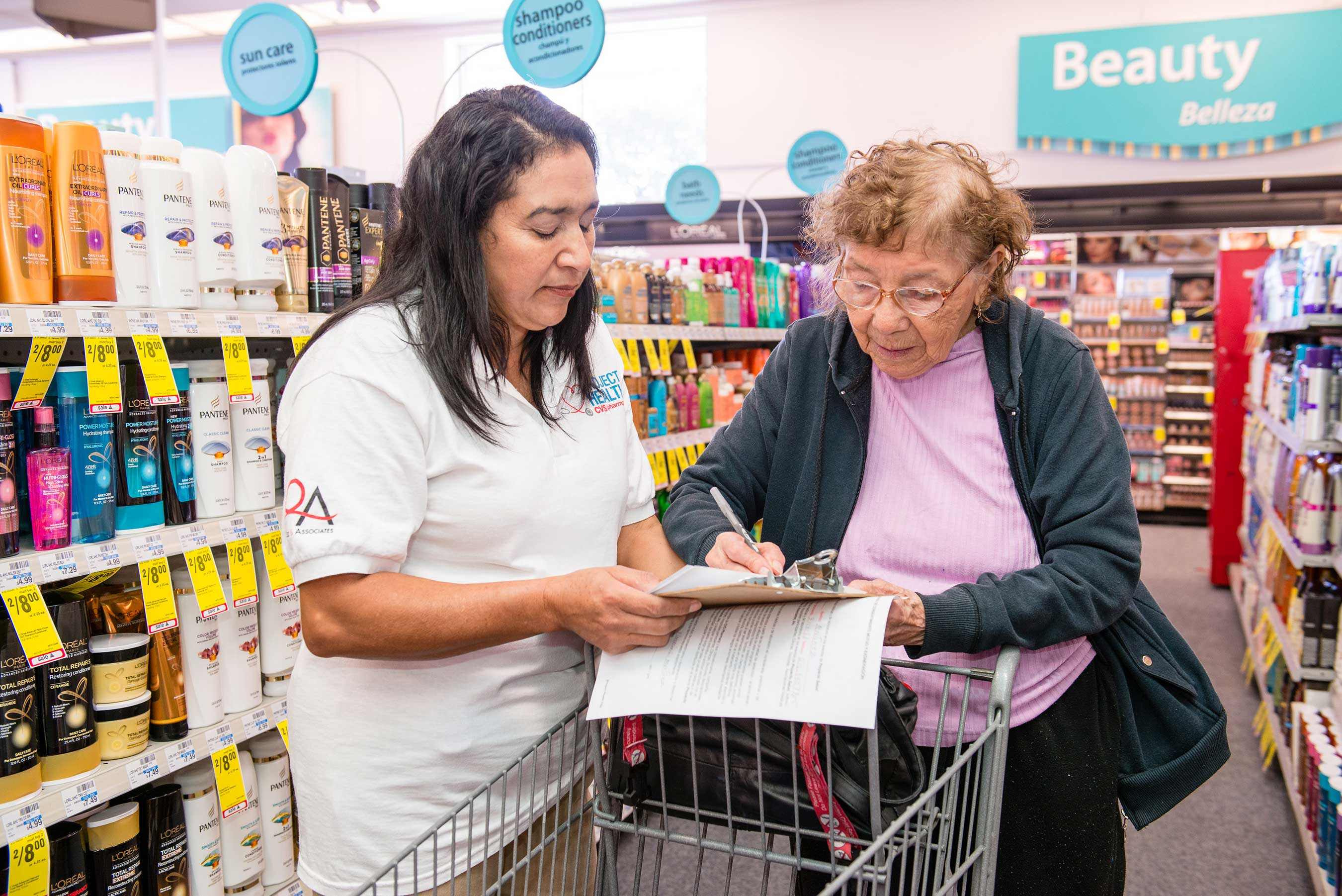 CVS Customer Registers for Project Health