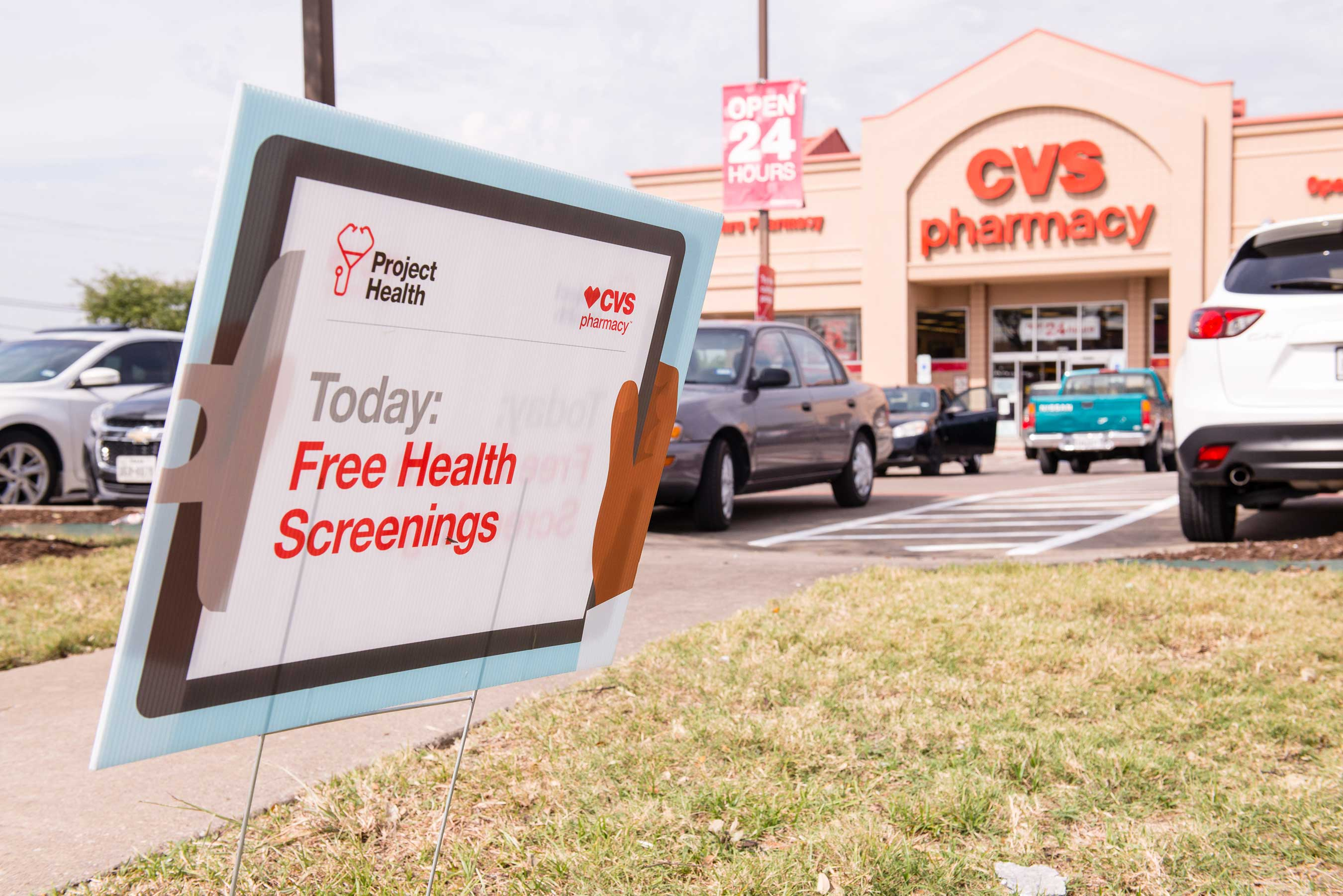 Local Free Screenings as Part of Project Health