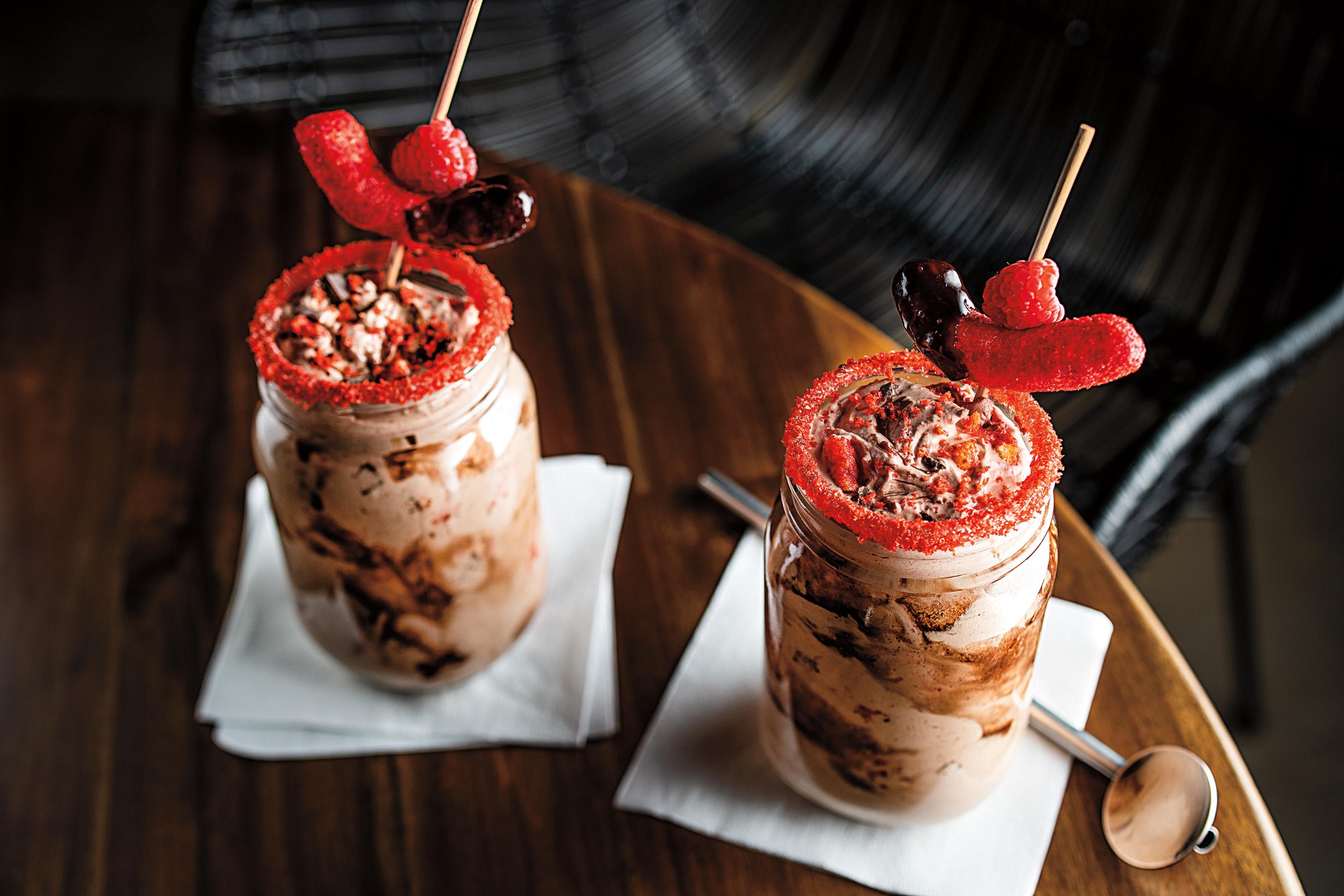 """""""Hot"""" Chocolate Shake"""