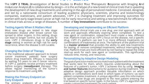 I-SPY 2, a Clinical Trial Model that is Revolutionizing
