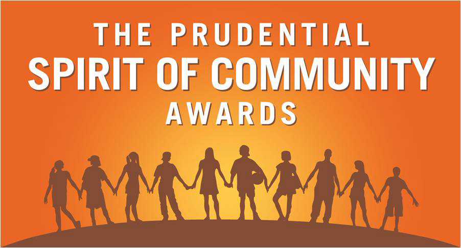 Over the past 23 years, Prudential Spirit of Community Awards have been given to more than 125,000 middle and high school students across the country at the local, state and national level.