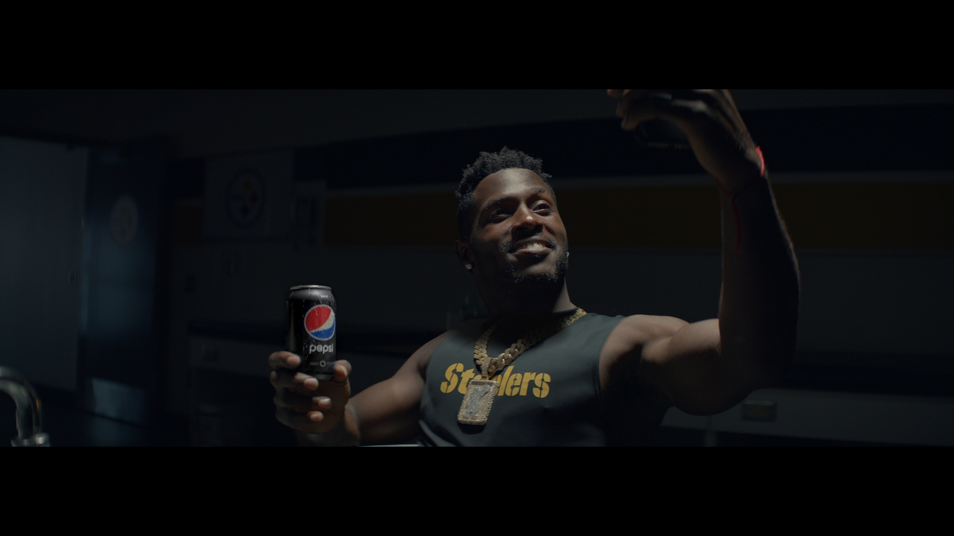 Antonio Brown in Pepsi's new commercial
