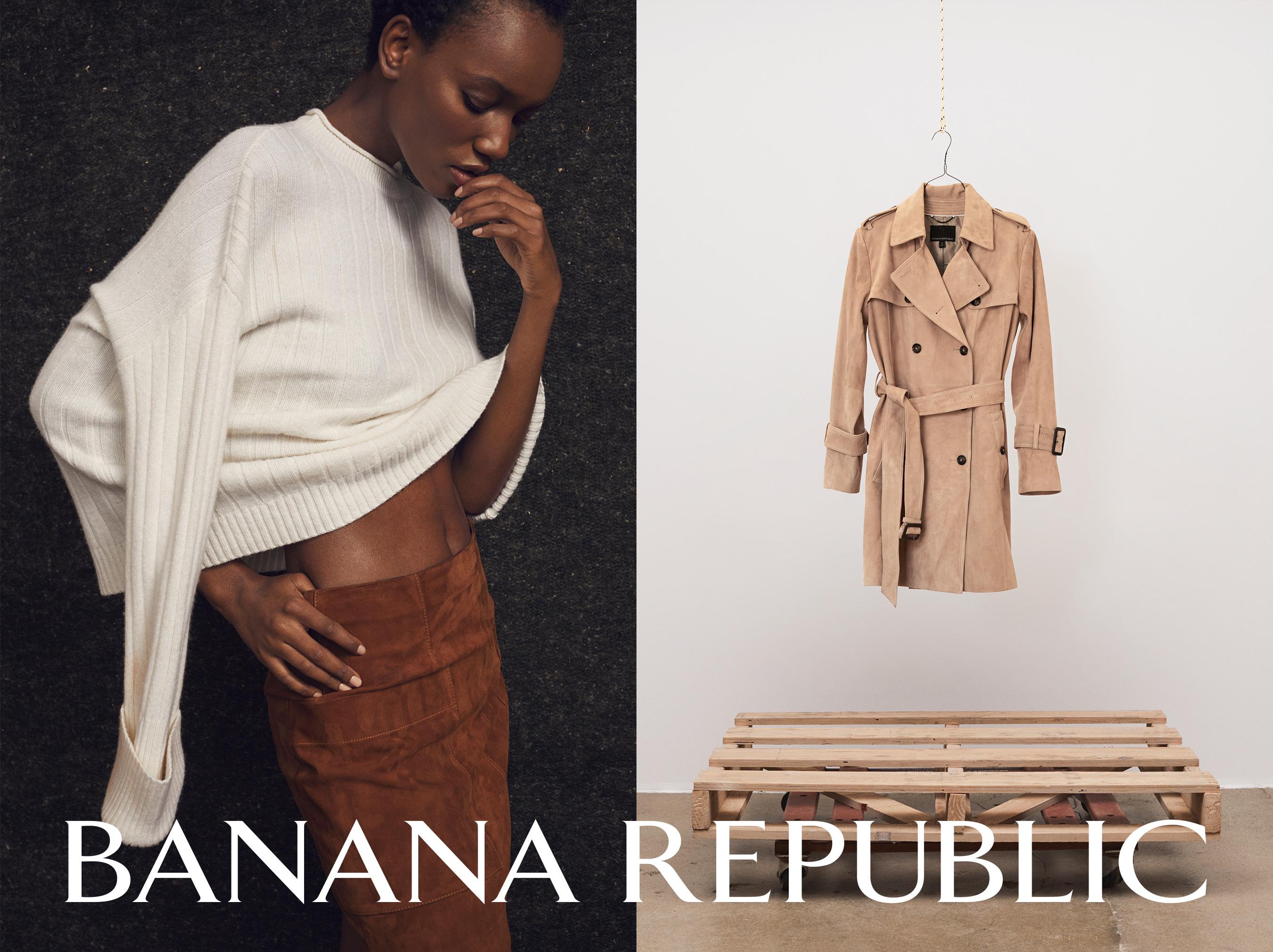 "Banana Republic Fall 2018; 40th Anniversary women's ad campaign, ""No Boundaries"""